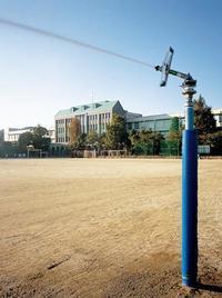 ヴィアトール学園 グランド散水栓