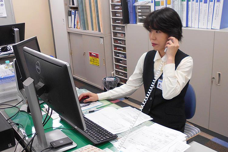 キャリア採用・工事部門一般事務配属 Yさん
