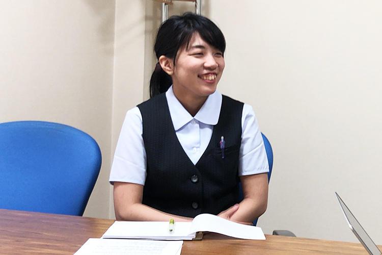 新卒採用(環境系学部)・スタッフ部門配属 Mさん