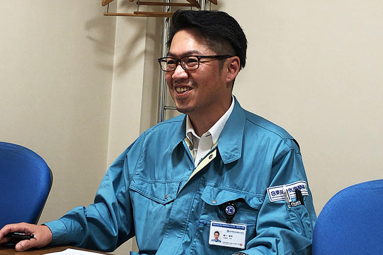 未経験キャリア採用(元営業)・施工管理部門配属 Mさん